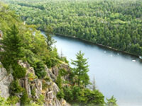 Acadia National Park: Echo Lake