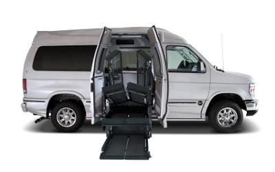 full size handicap van