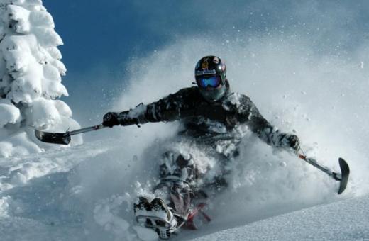 handicap ski equipment
