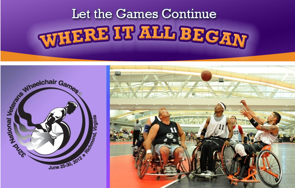 national veteran wheelchair games