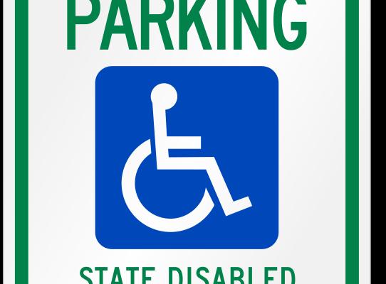 reserved-parking-ada-handicap-sign-k-1467