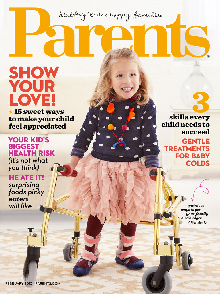 spina bifida toddler covergirl parents magazine
