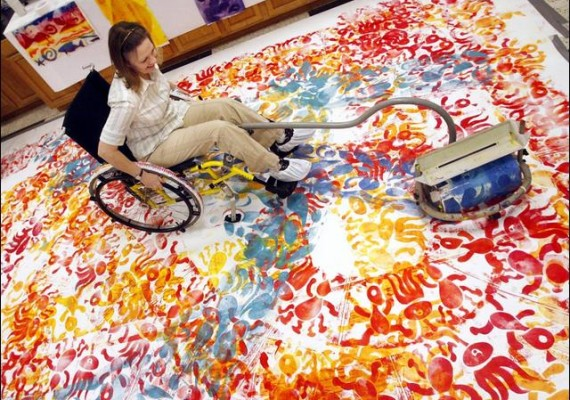 wheelchair-art