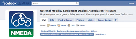 NMEDA Facebook Community for Disability Resources