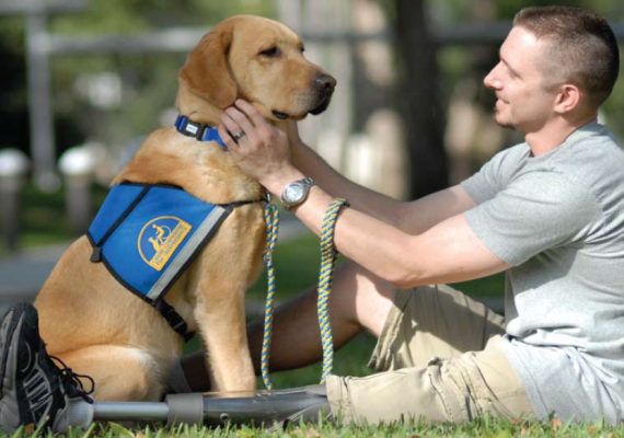 jeffrey-adams-and-cci-service-dog-sharif
