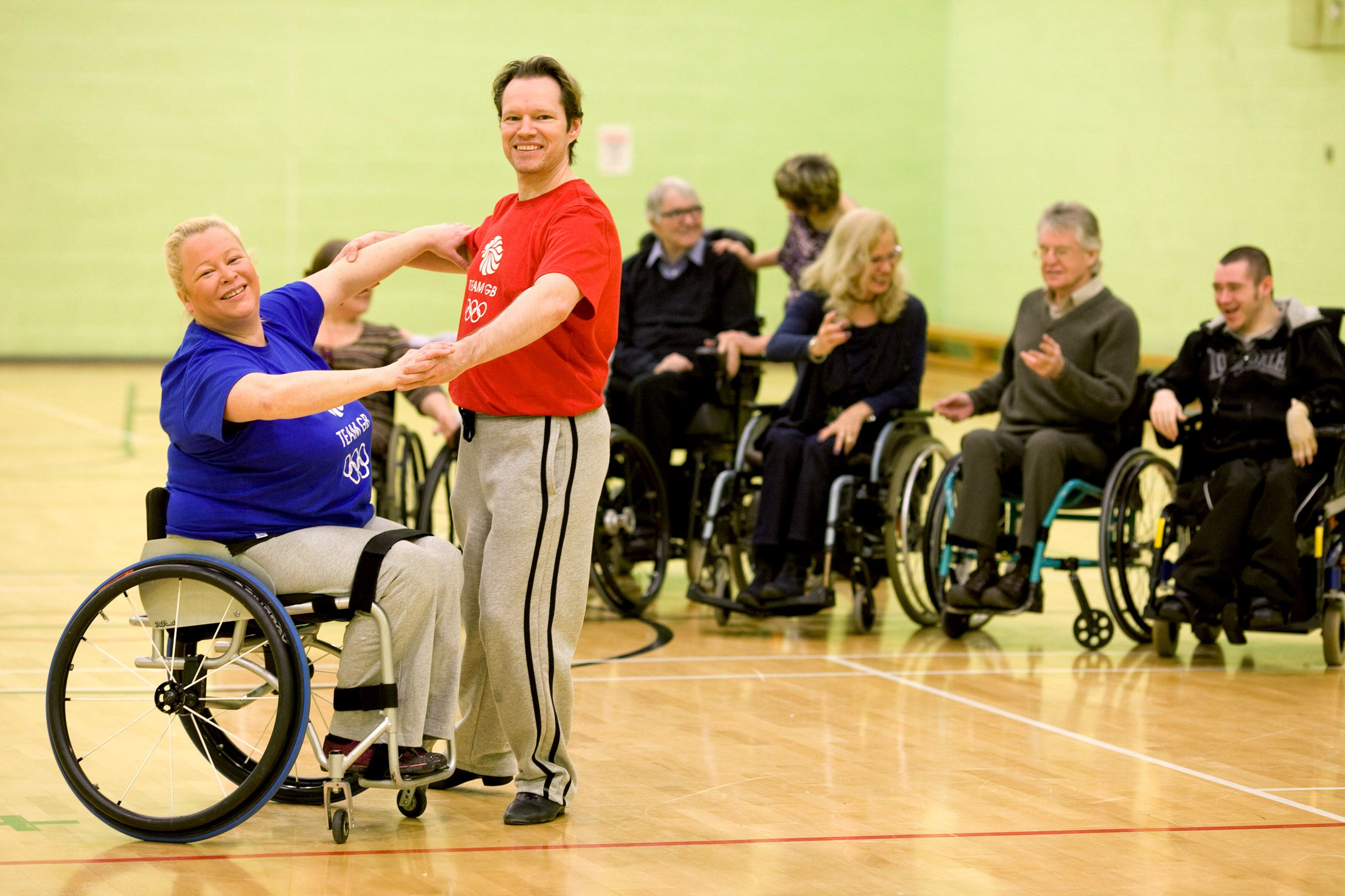 32345 strictly wheelchair dancing celebrates donation from the galaxy hot chocolate fund