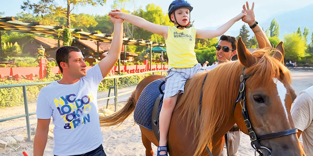 hippotherapy for children with autism Equine therapy, or horse-assisted therapy, can provide children with autism opportunity to improve cognitive and language skills, motor skills & social skills.