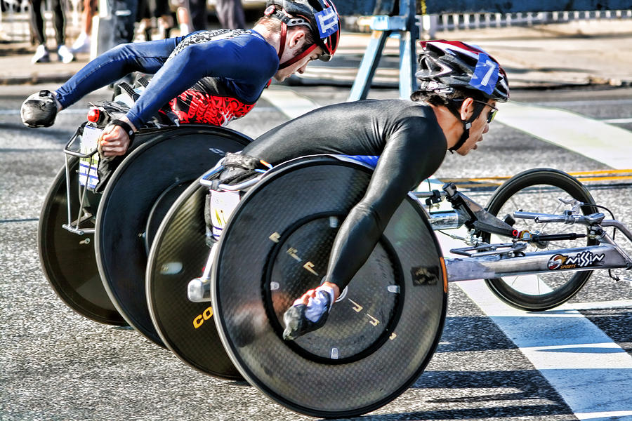 nyc marathon wheelchair racers terry cork