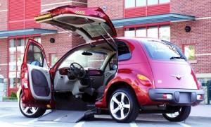 wheelchair carrier for car