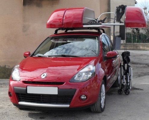 wheelchair carrier for car