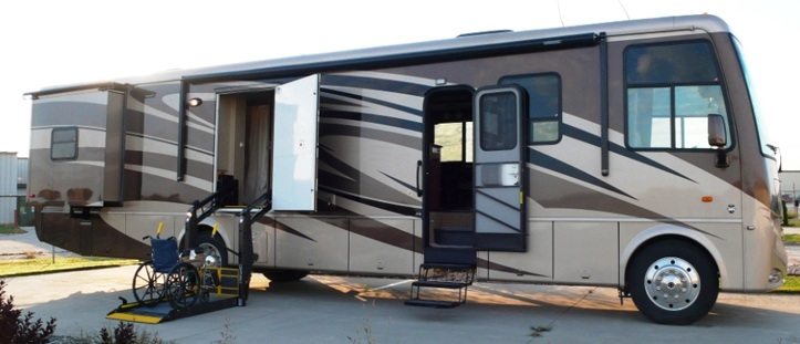 Features Of Wheelchair Accessible Motorized Homes Nmeda