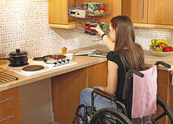 Wheelchair accessible kitchen nmeda Handicap wheelchair
