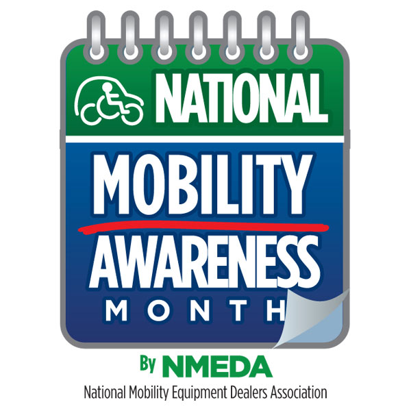 national mobility awareness month logo