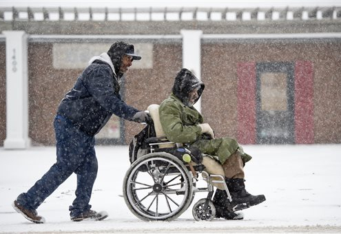 wheelchair winter tips