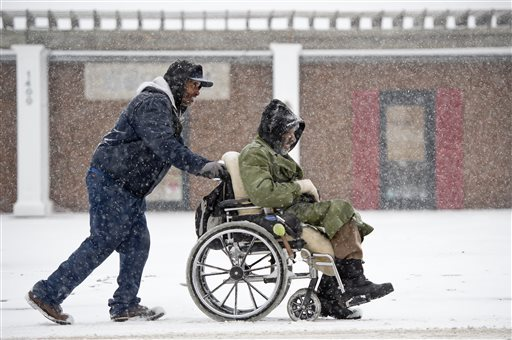wheelchair winter tips