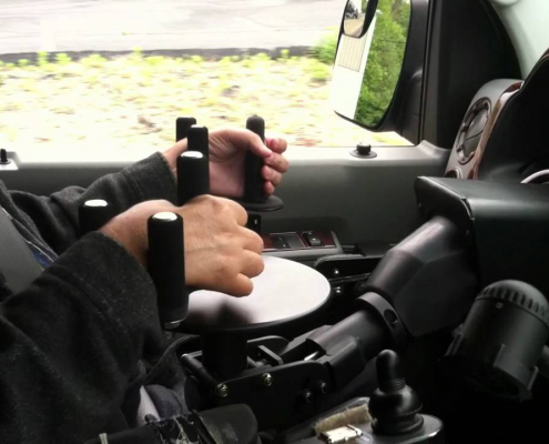 electronic hand controls