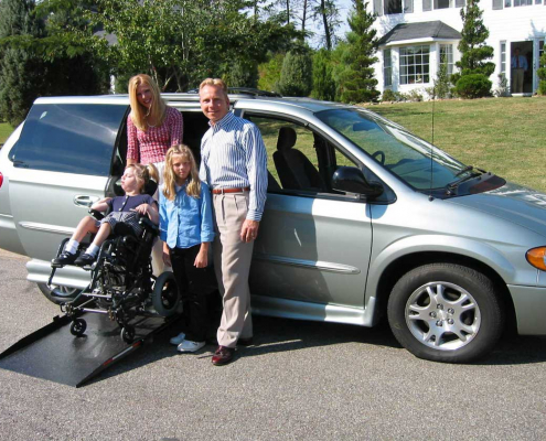 minivans for parents with children with disabilities