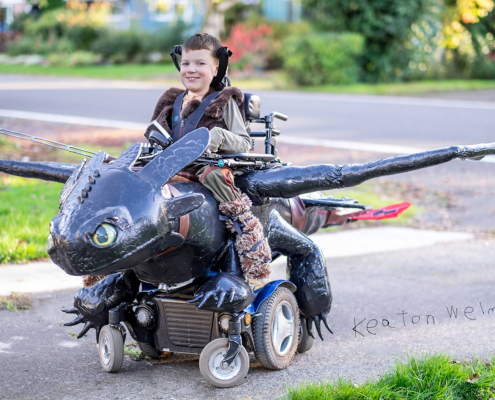 magic wheelchair dragon
