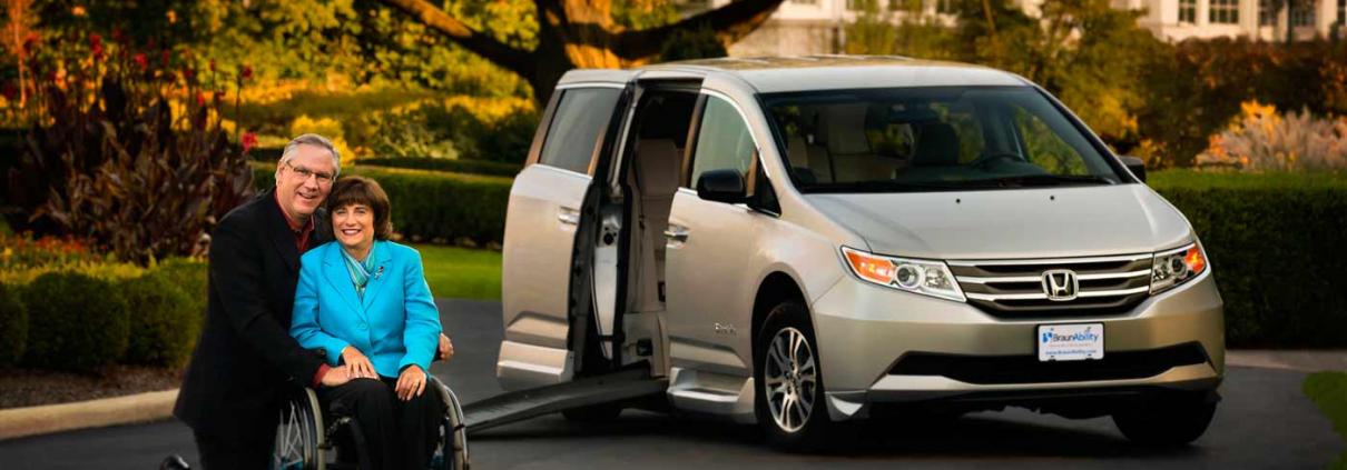 choosing a wheelchair van
