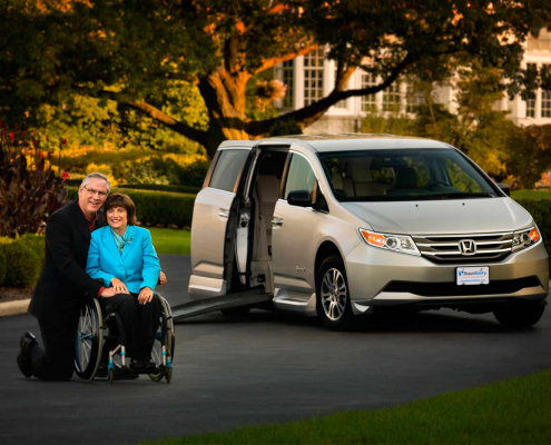 choosing a wheelchair van