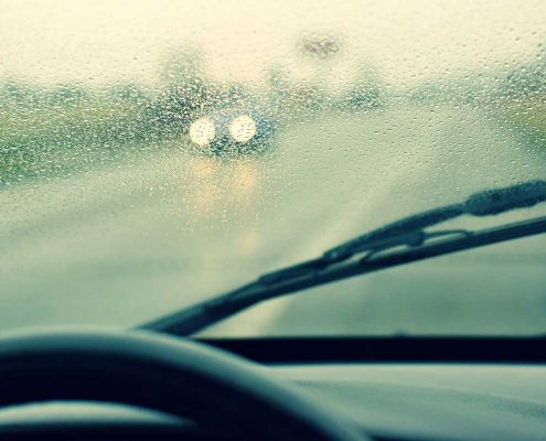driving your mobility vehicle in inclement weather