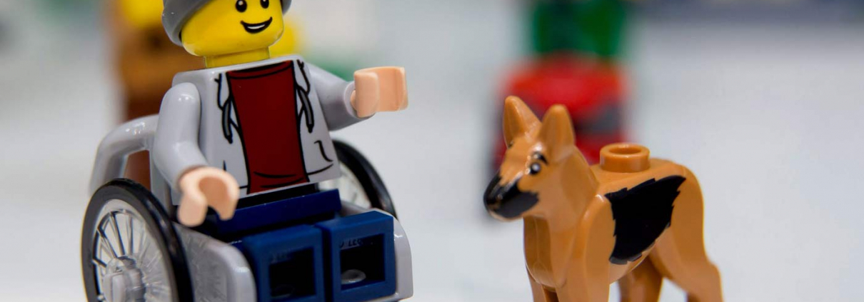toy like me lego wheelchair