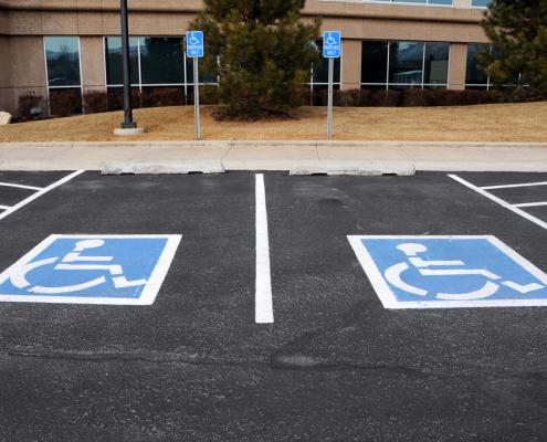 Accessible Parking Spots