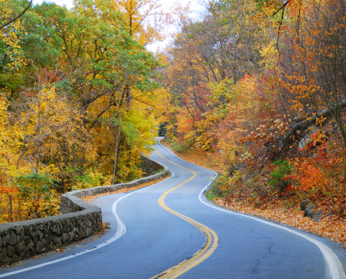 Fall Accessible Road Trip
