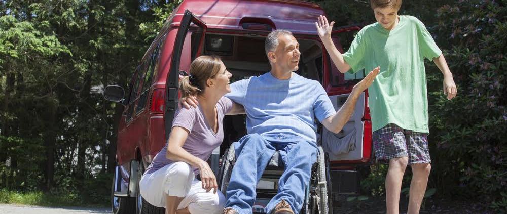 wheelchair van shopping