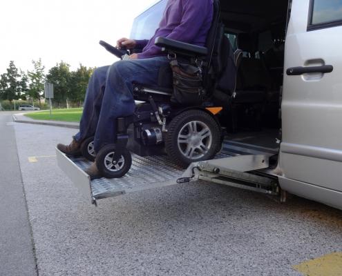 iStock 1186772656 van lift wheelchair