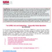 NADA FAQs Doc 01 e1605322986769