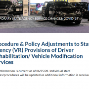 grants for wheelchair accessible vans