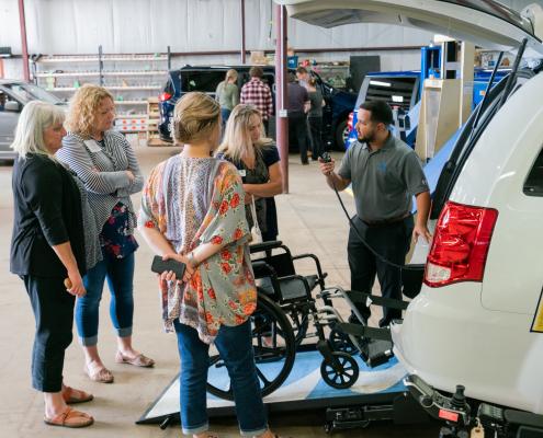 wheelchair car carrier